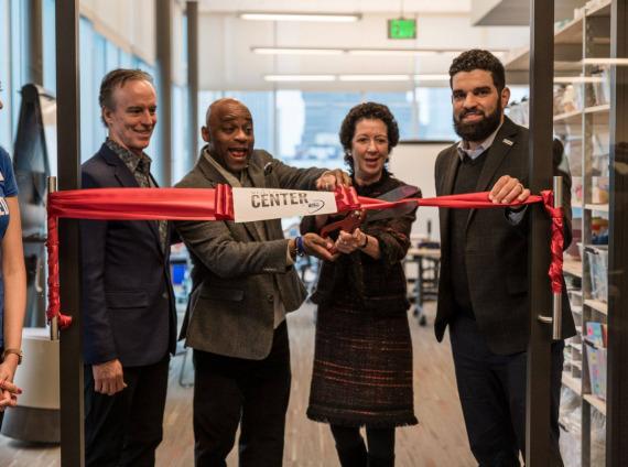 Opening of United Way TIAA Volunteer Center